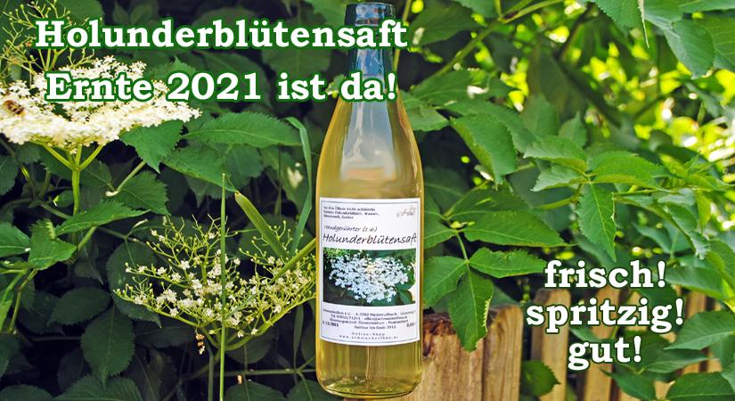 Holunderblütensaft 2021