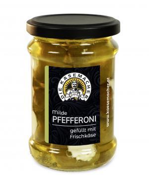 Pfefferoni mit Frischkäse mild