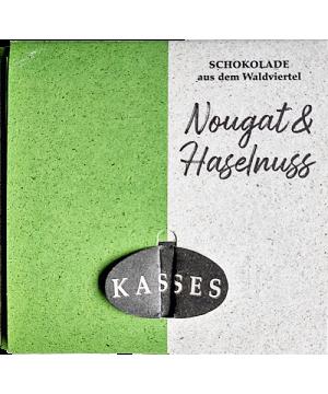 Nougat-Haselnuss Schokolade