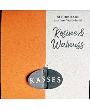 Rosinen-Walnuss Schokolade
