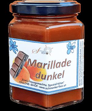 Marillen-Schokomarmelade dunkel