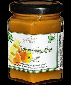 Marillen-Schokomarmelade hell