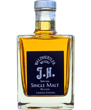 Dark Single Malt Peated J.H. 0,35 l