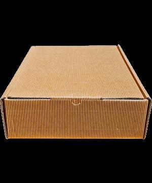 Geschenkkarton_3er braun (38x26,5x8,5 cm)
