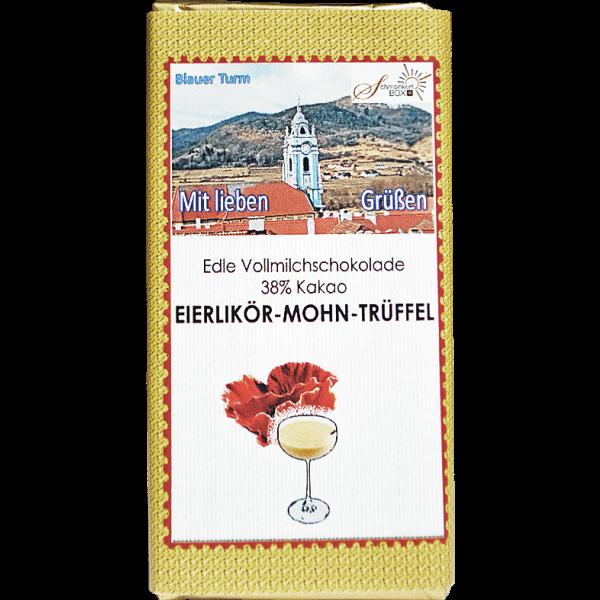 Eierlikör-Mohn-Trüffelschokolade
