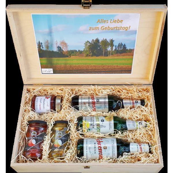 Geschenkkassette Pikanter Hopfen II
