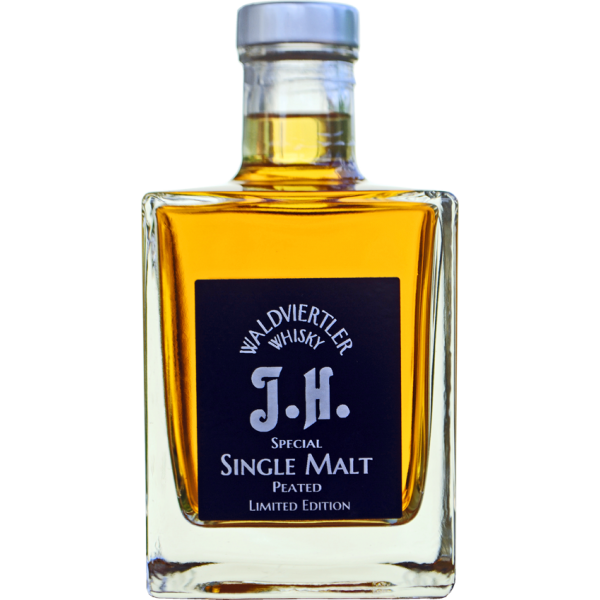 Dark Single Malt Peated J.H. 0,20 l