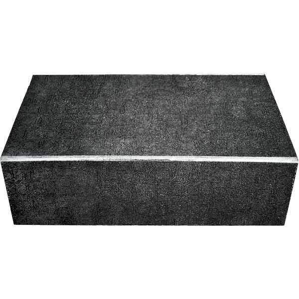 Faltkarton mit Magnetverschluss schwarz (26x16x8 cm)