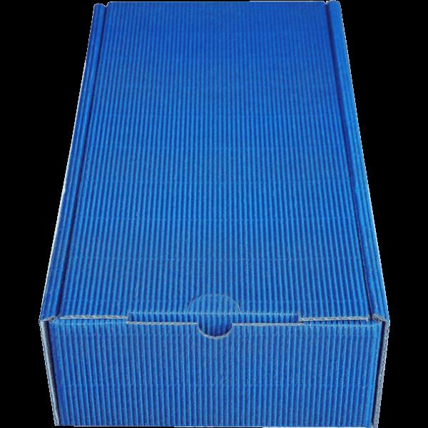 Geschenkkarton_2er blau (38x18x8,5 cm)