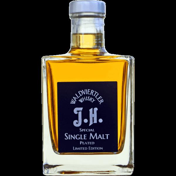 Dark Single Malt Peated J.H. 0,50 l