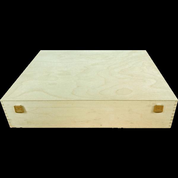 Geschenkkassette 6er Holz (40x50x10 cm)