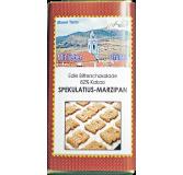 Weihnachtsschokolade Spekulatius-Marzipan