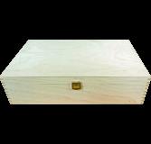 Geschenkkassette 3er Holz (40x24x10 cm)