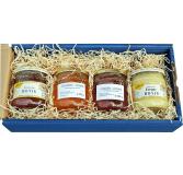 Geschenkkassette Honig-Streichquartett